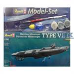 Uboot Typ VII D Minenleger Modell Set