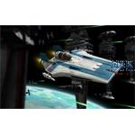 Star Wars: Resistance A-wing Fighter, Blue (B&P)