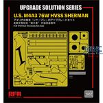 U.S M4A3 76W HVSS SHERMAN upgrade solution
