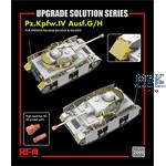 Upgrade set for 5046 5053  & 5055 Pz.IV Ausf.G/ H