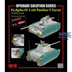 Pz.Kpfw.IV J mit Panther F Turret upgrade solution