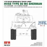 HVSS T80 M4 Sherman Workable Track Links