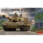 British Challenger 2 w/workable track links