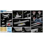 USS Gato SS-212 + OS2U-3 Kingfisher Floatplane