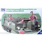 Brit. Universal Carrier Crew in Winter Uniform