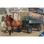 Heeresfeldwagen 7 Stahlausführung