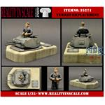Panzer II Turret Emplacement incl. a 3/4 figure