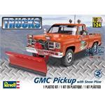 GMC Pickup with Snow Plow (Schneepflug)