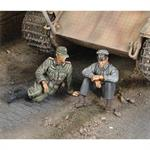 """A moment of rest\"" German Tank Crew"