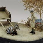 Tommy & lazy Donkey  1/35
