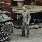 Soldier who paints - WWII  1/72