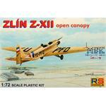 Zlin-XII open canopy