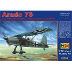 Arado 76 German trainer from WWII