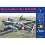 Morane-Saulnier M.S. 406 France 1940