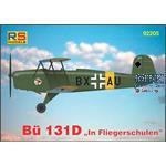 Bücker Bü 131 D in Fliegerschulen