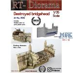 Destroyed bridgehead