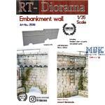 Embankment wall