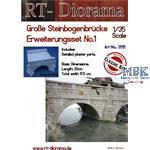 Große Steinbogenbrücke Erweiterungs-Set Nr.1