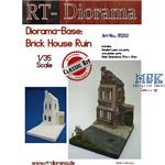"Diorama-Base: ""Brick House Ruin"""