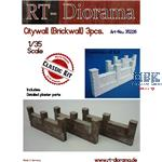 Citywall (Brickwall) 3pcs.