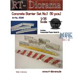 Concrete barrier Set No.1