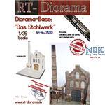 """Diorama-Base: """"Das Stahlwerk"""""""