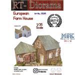 """Diorama-Base: """"European Farm House"""""""