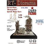"Diorama Base: ""Wintergewitter"" - Ceramics"