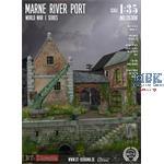 "Diorama-Base: ""Marne River Port"" WWI"