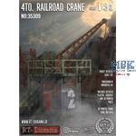 4to. Railroad crane