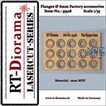 Flanges Set / Flansche (6mm) 1/35