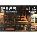 3D Resin Print: Pipe Valves Set