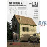3D Resin Print: Rain Gutters Set