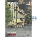 3D Resin Print: Town Lantern Set Type 2 (2pcs.)