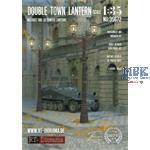3D Resin Print: Double Town Lantern (2pcs.)