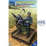 Zwillingssockel 36 Anti-Aircraft Machine Gun Mount