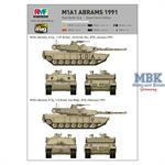 M1A1 Abrams Gulf War 1991
