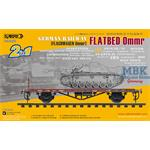 Flachwagen 0mmr - Super Value Pack (1+1)