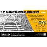 Railway Track set / Schienen Set (35,71 cm)