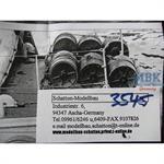 Wasserbomben Set für German S-100 Schnellboot