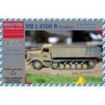 MB L4500 R Maultier Stahlfahrerhaus