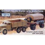 Einheitsanhänger 5t mit Wassertank