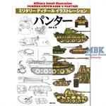 Panzer V Panther  Military Detail Illustration