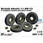 British wheels 11.00 - 22