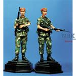 Military Policewomen 16th MP BDE Grenada 1983