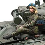Russia Female Infantry
