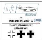 Balkenkreuz  1/32