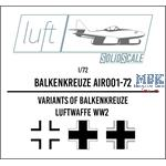 Balkenkreuz  1/72