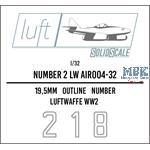 Numbers 2 Luftwaffe  1/32