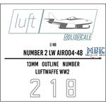 Numbers 2 Luftwaffe  1/48